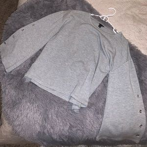 Ann Taylor oversized slouchy sweatshirt